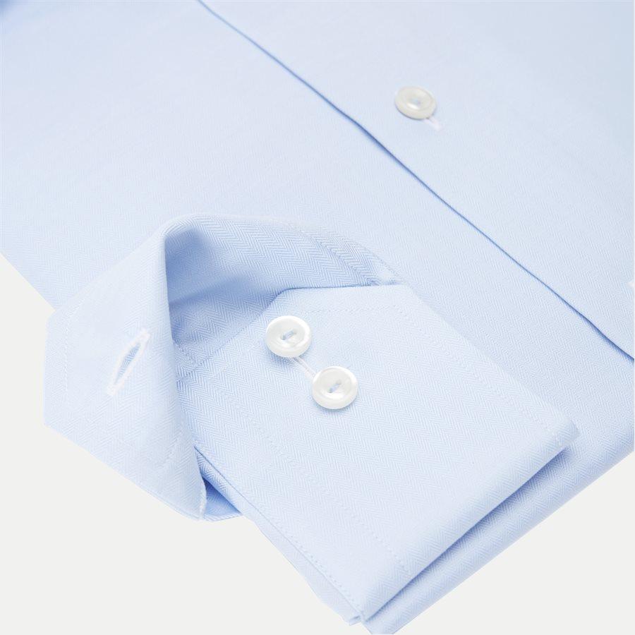 3153. - 3153 Signature Twill Skjorte - Skjorter - L BLÅ - 4